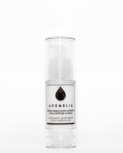 crema antiarrugas para la cara con aceite de camelia y ácido hialuronico