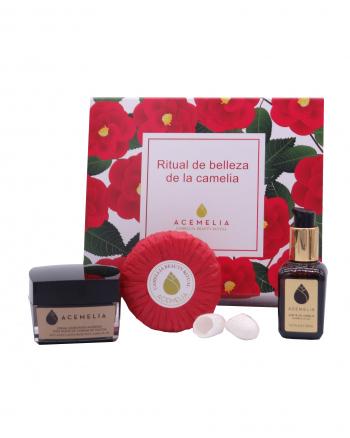 pack ritual de belleza con aceite de camelia saho