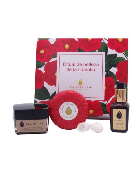 Beauty SAHO ritual based on camellia oil