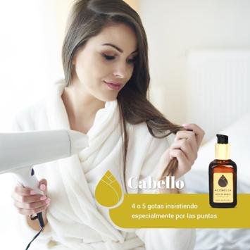 cuidado pelo aceite de camelia