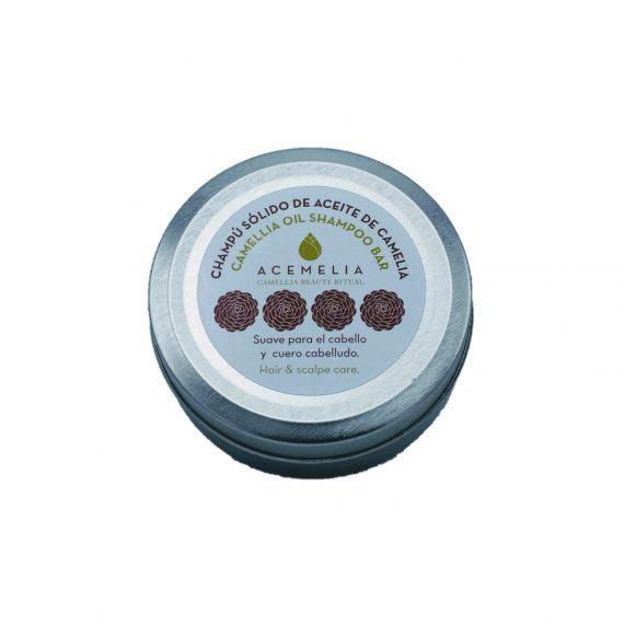 Shampoo sólido de óleo de camélia
